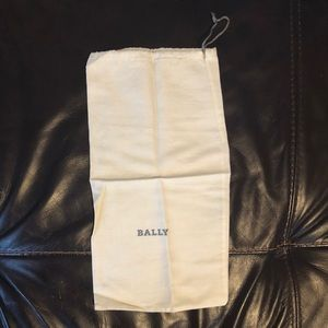 "4/$40 Bally Drawstring Dust Bag 13.5"" x 7"""